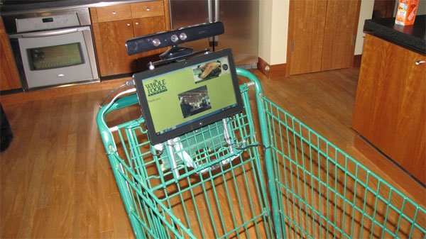 kinect cart tb