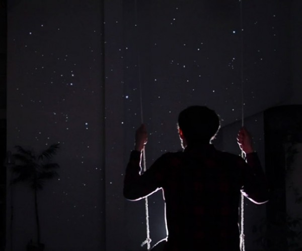Starfield Kinect Swing Probably Would Make You Pretty Dizzy