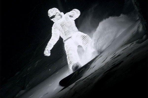 led surfer