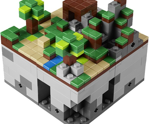 lego minecraft micro world 3
