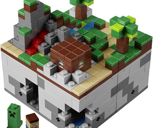 lego minecraft micro world