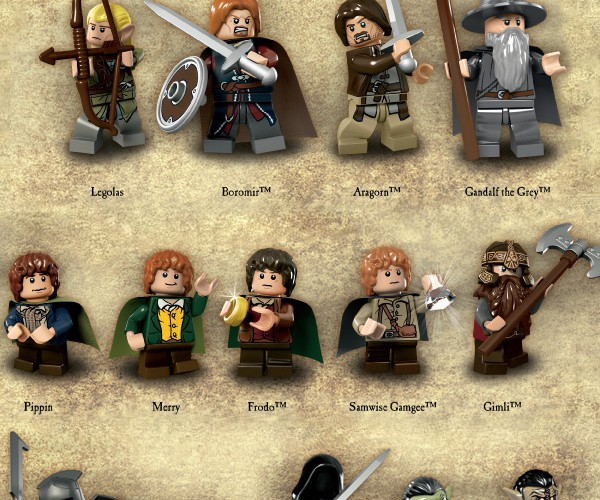 LEGO Releases Official LOTR Minifig Images, LEGO Gollum is Precious