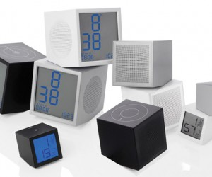 LEXON Prism Series Clocks and Speakers: Resistance is Futile