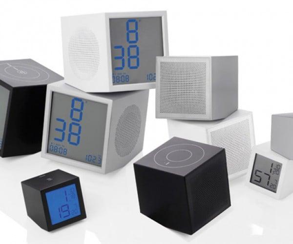 LEXON Prism Series Clocks and Speakers: Resistance is Futile