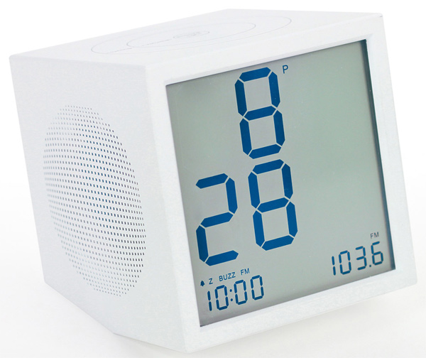 lexon prism speaker clock radio joe doucet