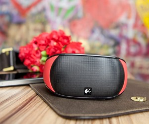 Logitech Red Mini Boombox: The Perfect Geeky Valentines Day Gift