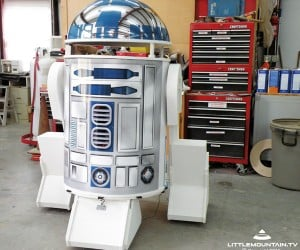 Make-A-Wish Foundation and Little Mountain Productions Build Little Boy R2-D2
