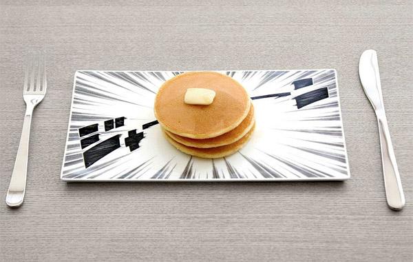 manga pancake plate