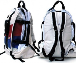 Mariclaro Upcycled Bags: Made from Airbags, Car Upholstery and Other Weird Stuff