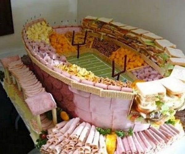 Super Bowl of Snacks Held at Meat Stadium