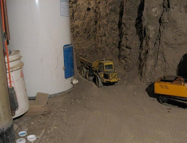 miniature basement excavation 2