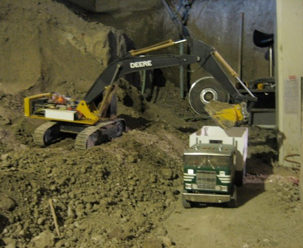 miniature basement excavation 3