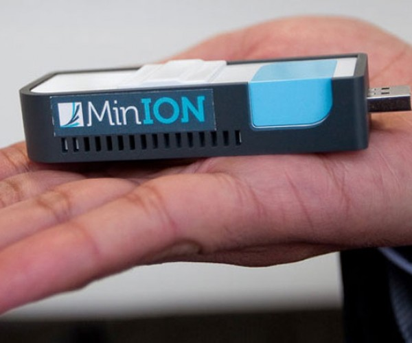 MinION DNA Sequencer Runs Off USB Port