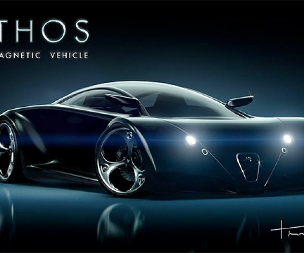 Mithos Electromagnetic Concept Car Looks Cool, Will Probably Never Exist