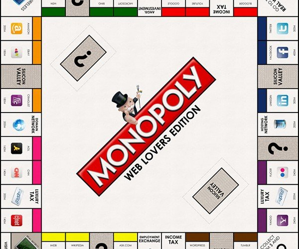 monopoly web lovers edition by make some design