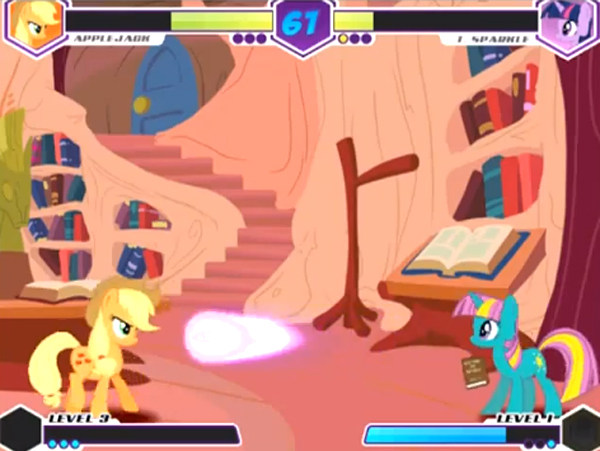my little pony fighting is magic 2d fighter