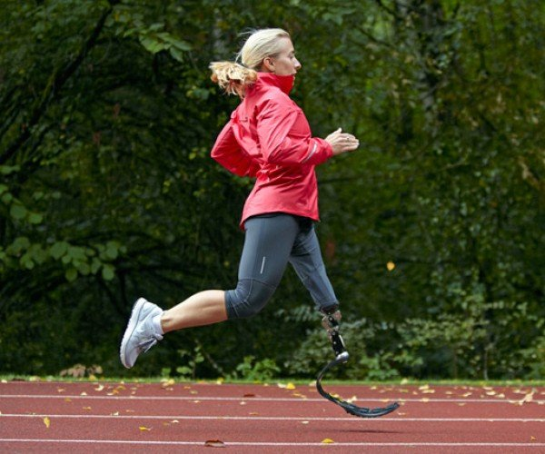 Nike Develops Prosthetic Leg Running Sole: Cyborgs Run Among Us