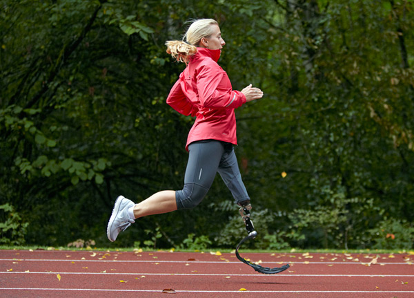 nike sole ossur flex run prosthetic shoe