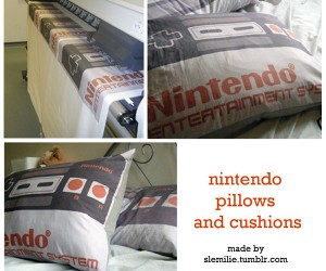 NES Pillows and Cushions: Retro Relaxation