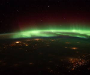 Aurora Borealis Photos Shot from ISS Are Spectacular