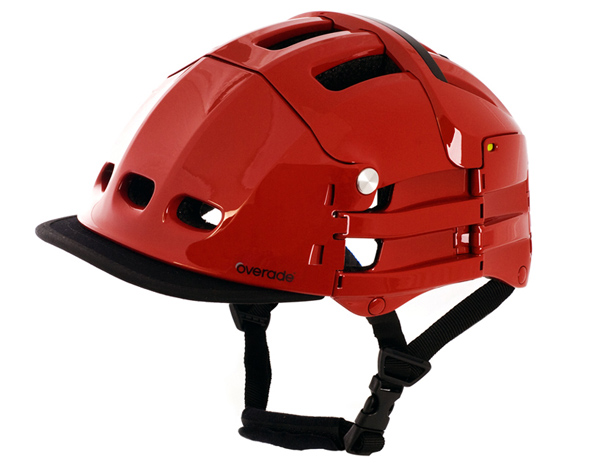 overade folding bicycle helmet