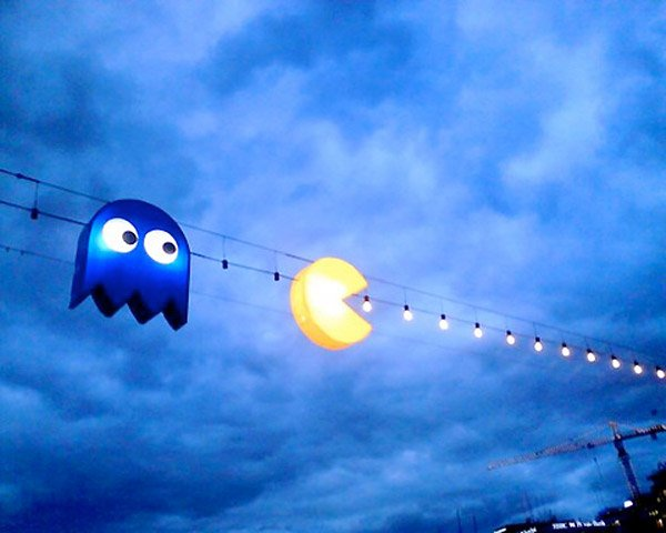 pac man light string 1