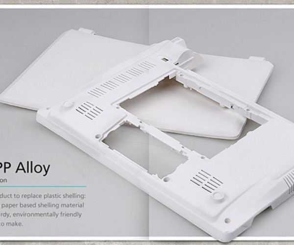 Paper PP Alloy: Your Next Notebook May Be Made from Your Old Notebook