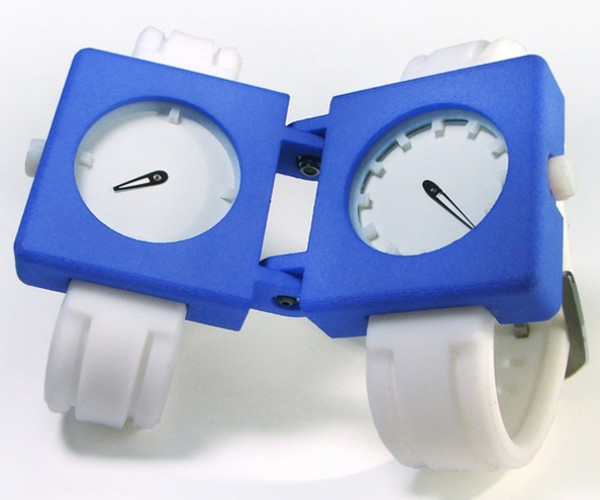Spli-T-ime Watch: You Could Just Wear Two Watches, No?