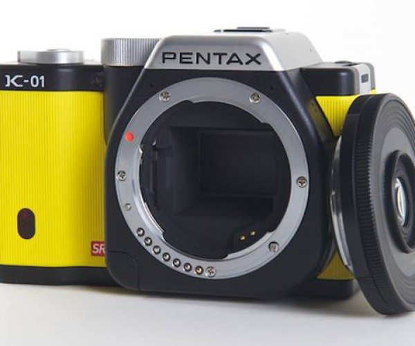 Pentax K-01: Slightly Chubby, with a Skinny Lens
