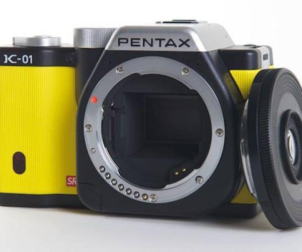 Pentax K-01: Slightly Chubby, with a Skinny Lens