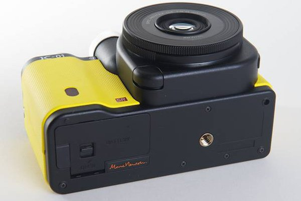 pentax k-01 mirror-less marc newson