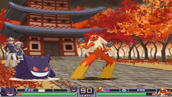 pokemon type wild fighting game