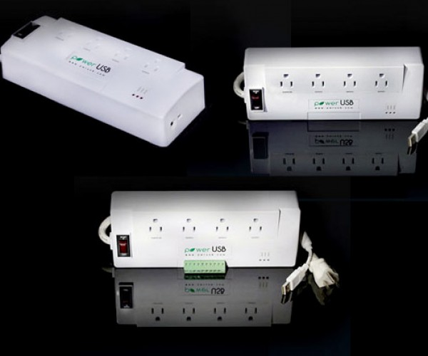 PowerUSB Power Strip Lets You Control Outlets with Your PC