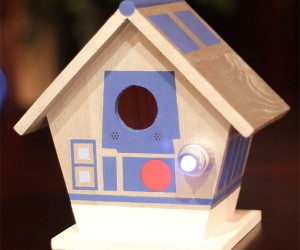 R2-D2 and C-3PO Birdhouses: For the Boids You're Looking for