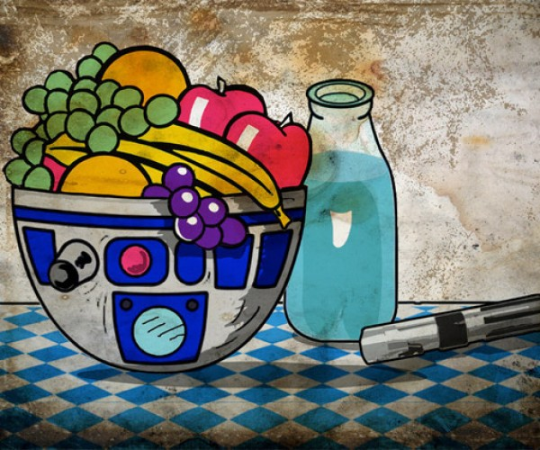 R2-D2 Still Life: The Fruit Bowl You're Looking for