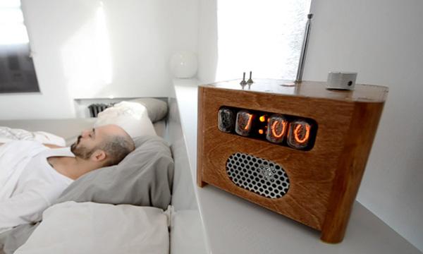 ramos alarm clock nixie