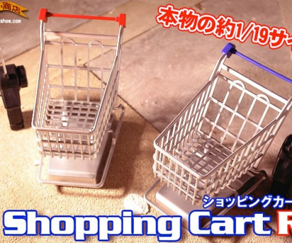 Scale R/C Shopping Carts Perfect for Tiny Grocery Runs