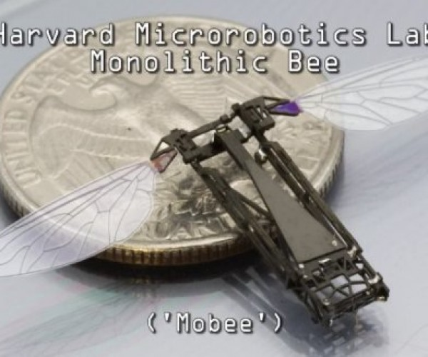 Mobee Robot Bees to Patrol the Skies of Our Nightmares