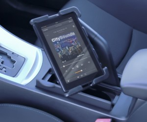 Cup Holder Gadget Mount: Do We Really Need to Use Our iPads While Driving?