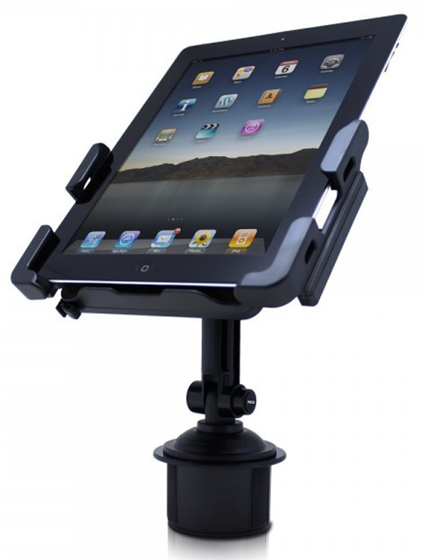 satechi cup holder mount smartphone tablet