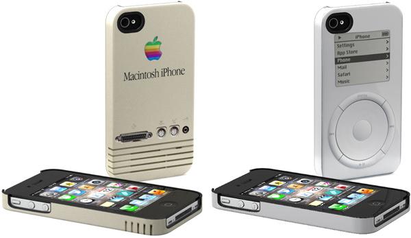 schreer delights retro apple iphone cases