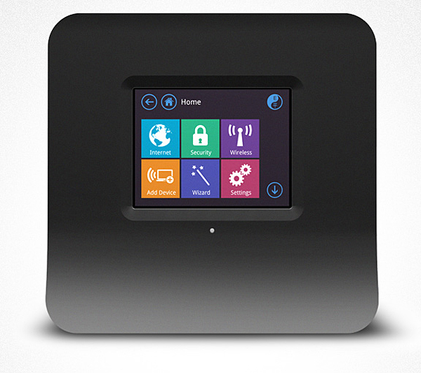 securifi almond wireless router with touchscreen