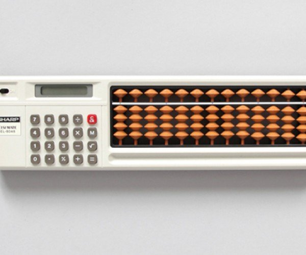 Calculator with Built-in Abacus: Double-Check, Double Solve, Double Nerd