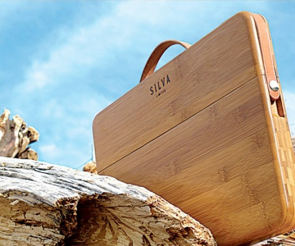 Silva Bamboo MacBook Pro Case: Crouching Tiger, Hidden Laptop