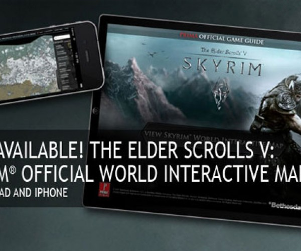 Skyrim Interactive Map for iPhone and iPad Now Available