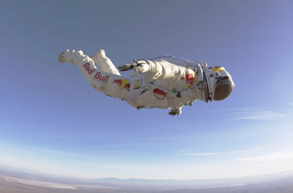 spacesuit jump speed of sound