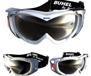 Buhel Speakgoggle G33 Intercom Goggles Let Fellow Skiers Hear Your Cries for Help