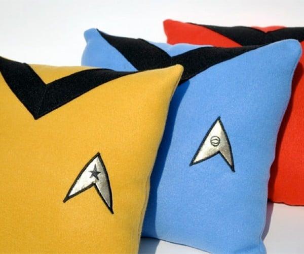 Starfleet Uniform Pillows: for Outer Space Pillow Fights