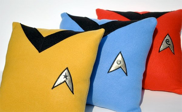 star trek pillows