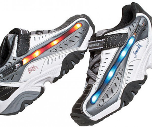 Star Wars Lightsaber Lighted Sneakers: May the Force Be with Shoes